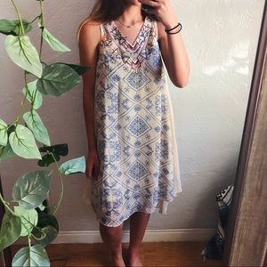 free people ancient mystery boho midi dress